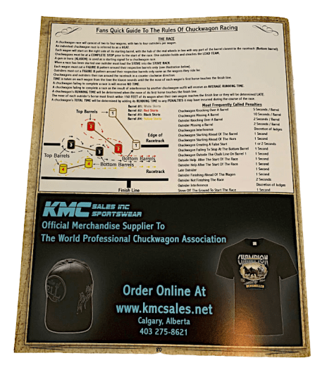 Page 2 2020 WPCA Spectator Guide